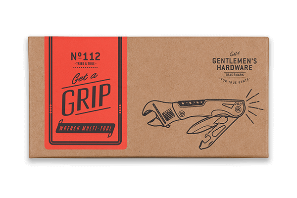Get a Grip - Gentleman's Hardware Wrench Multi-Tool with Torch