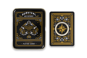Gentleman's Hardware Survival Playing Cards