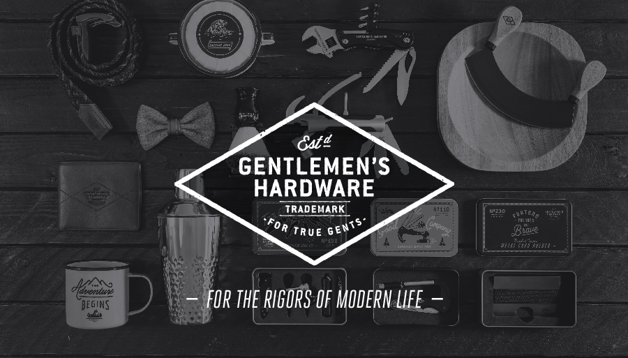 Gentleman's Hardware Trademark - For True Gents - For the rigors in life