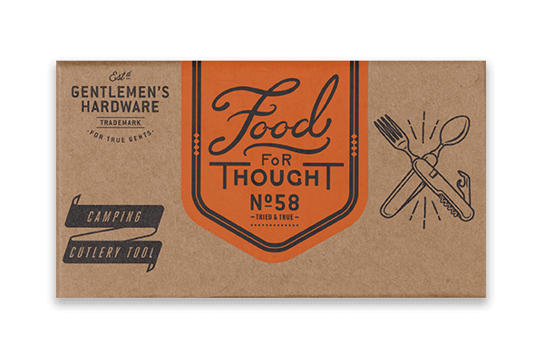 Food for Thought - Gentleman's Hardware Camping Cutlery Tool